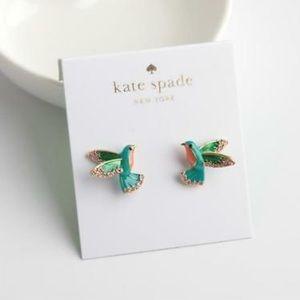 Brand new Kate Spade hummingbird earrings